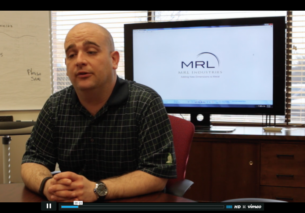 Testimonial: Dominic Fiorito of MRL Industries